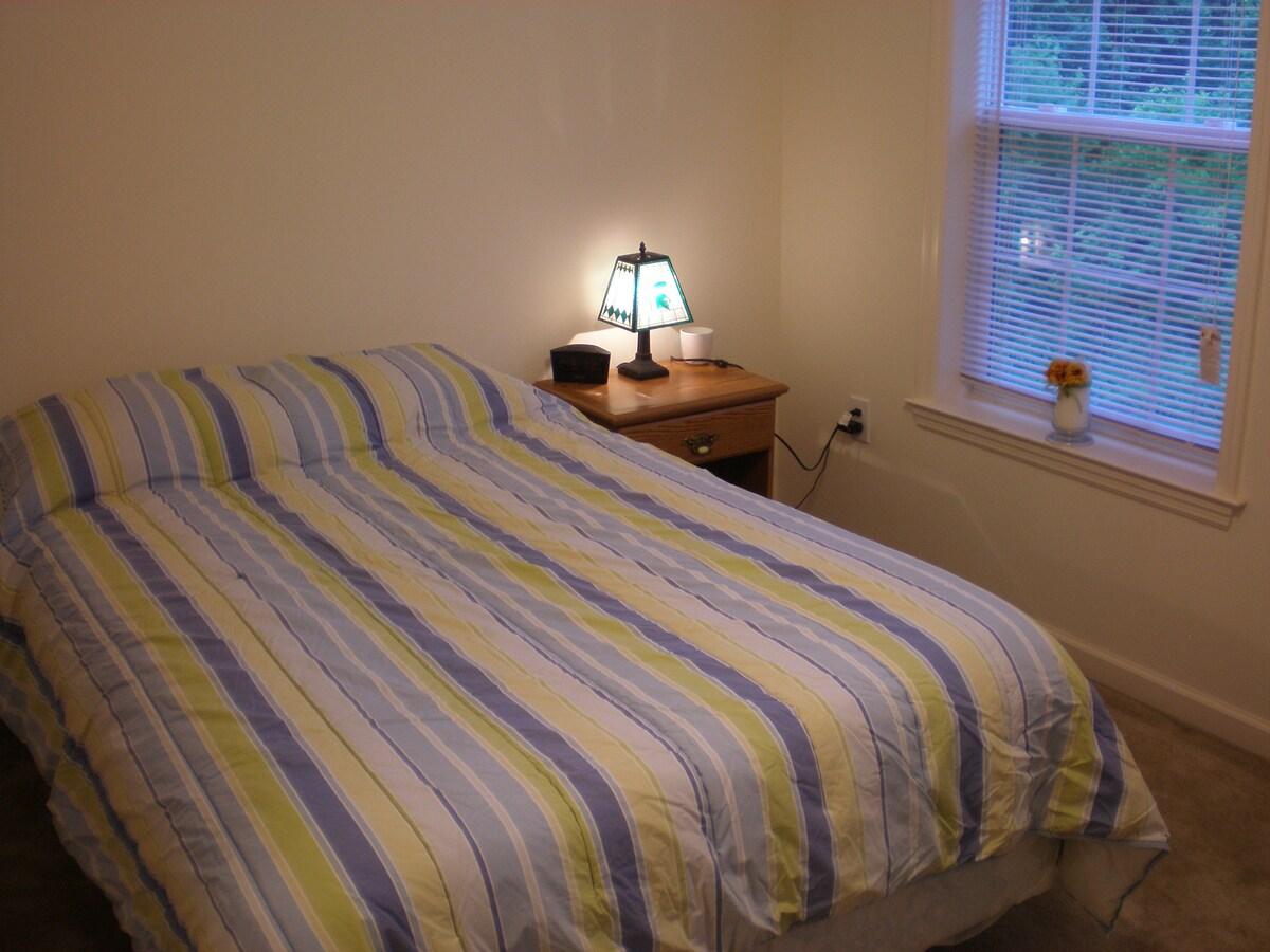 Private bedroom & bath!