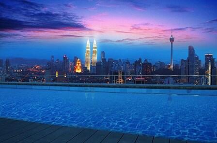Rooftop Infinity Pool+KL View #3