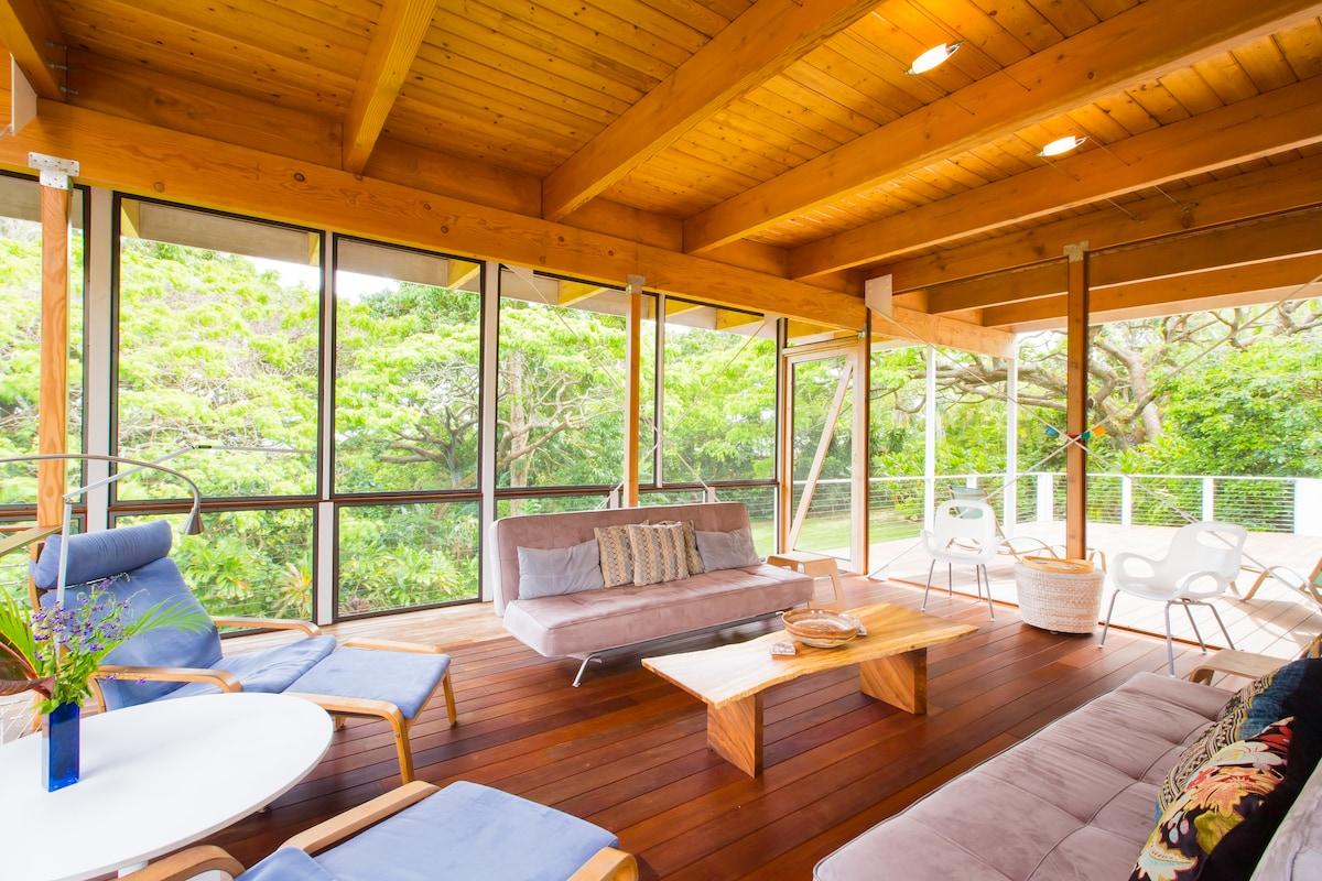 Hale 'Ohai: Monkeypod Tree House