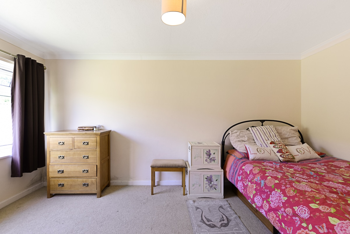 Bright and spacious room.