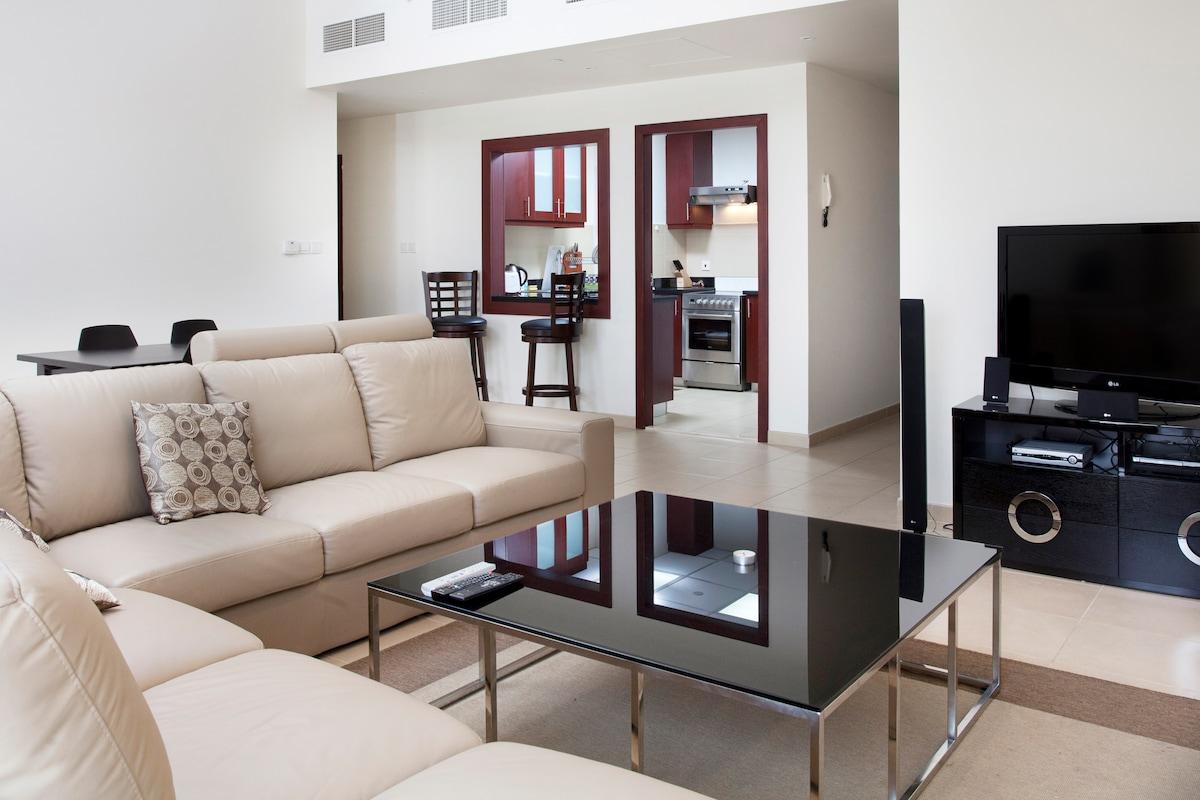 2 BR comfort apartment at JBR