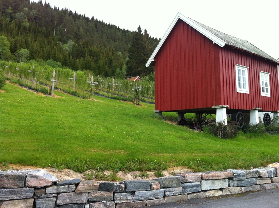 Charming rural storehouse