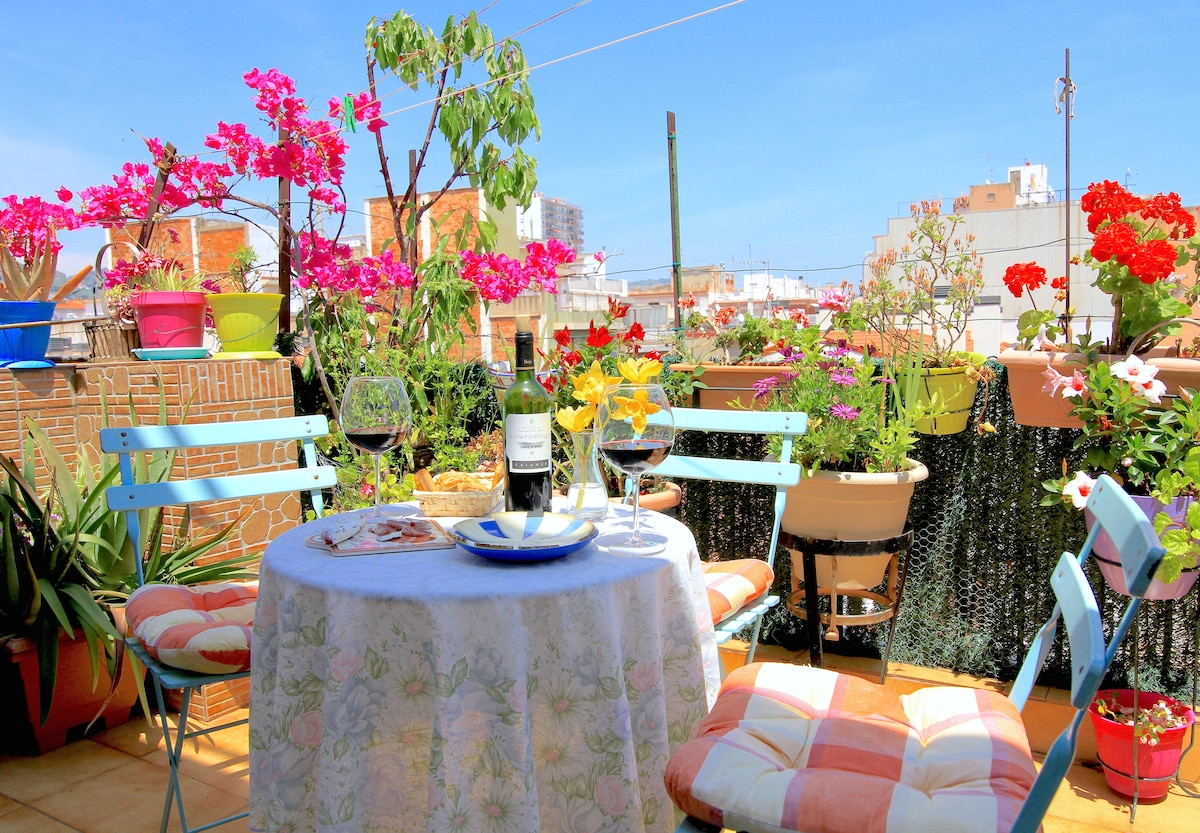 Cozy Penthouse in Calella