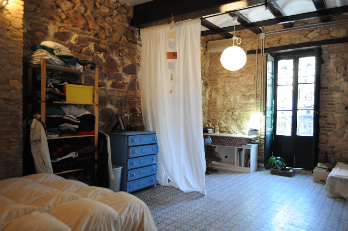 Big room with Air conditioned