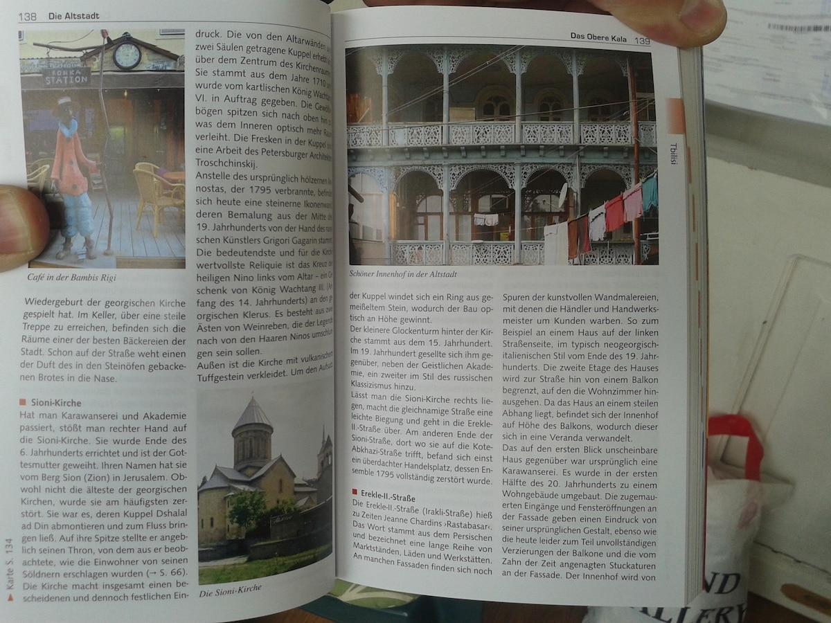 """наш красивый дом я нашла в немецком книге """"путеводитель Тбилиси"""""""