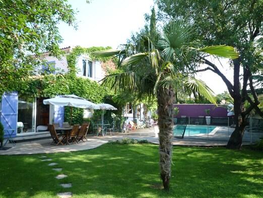 villa avec piscine dans le Sud