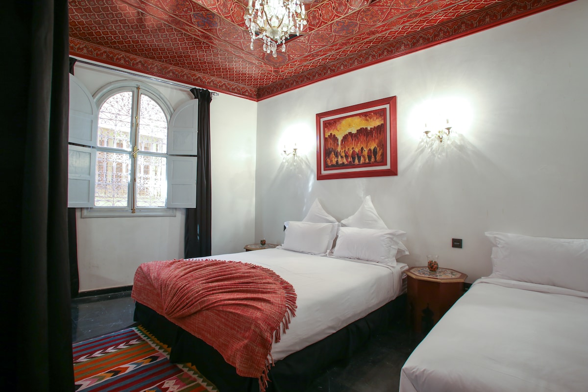 Triple room in the Kasbah and SPA