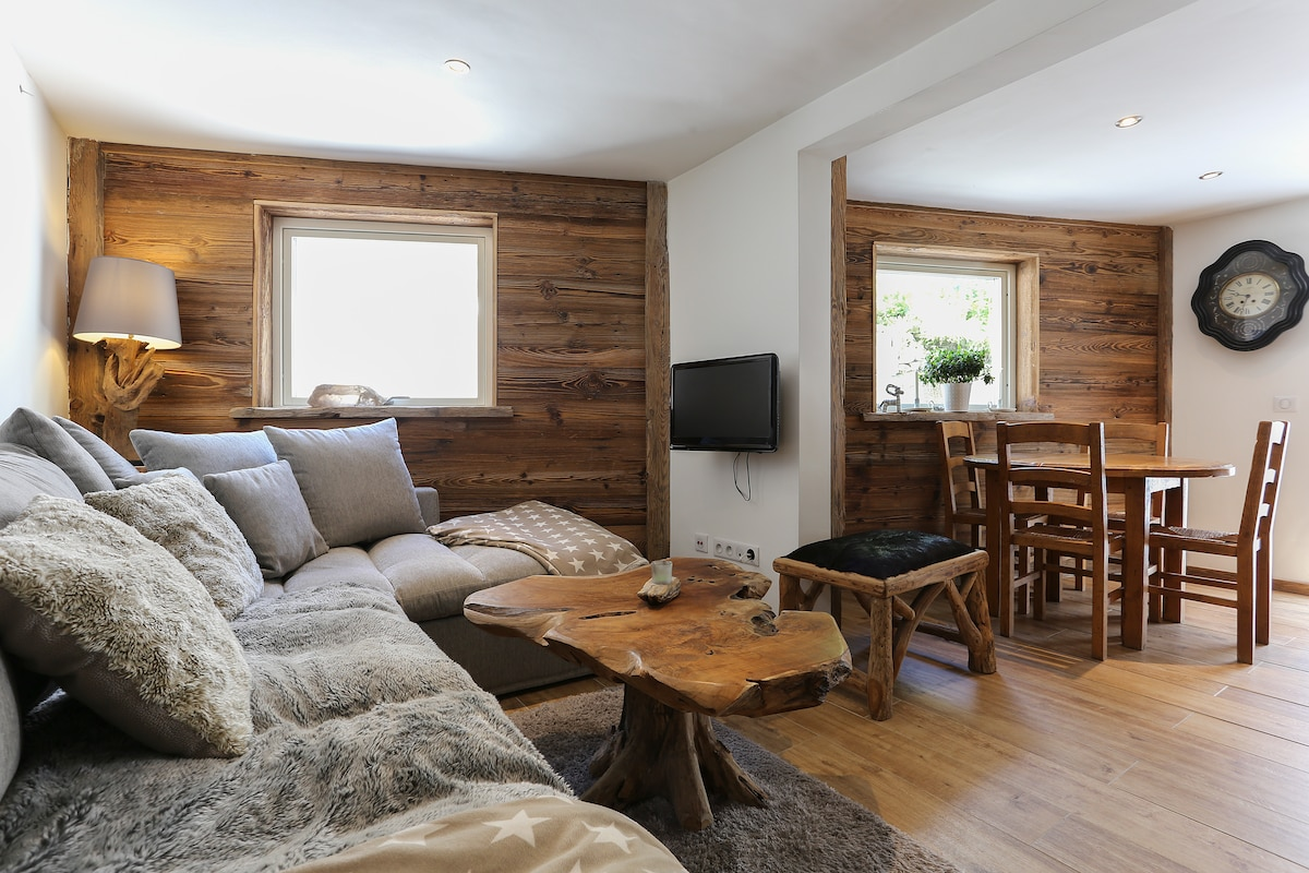 Central chalet style town house