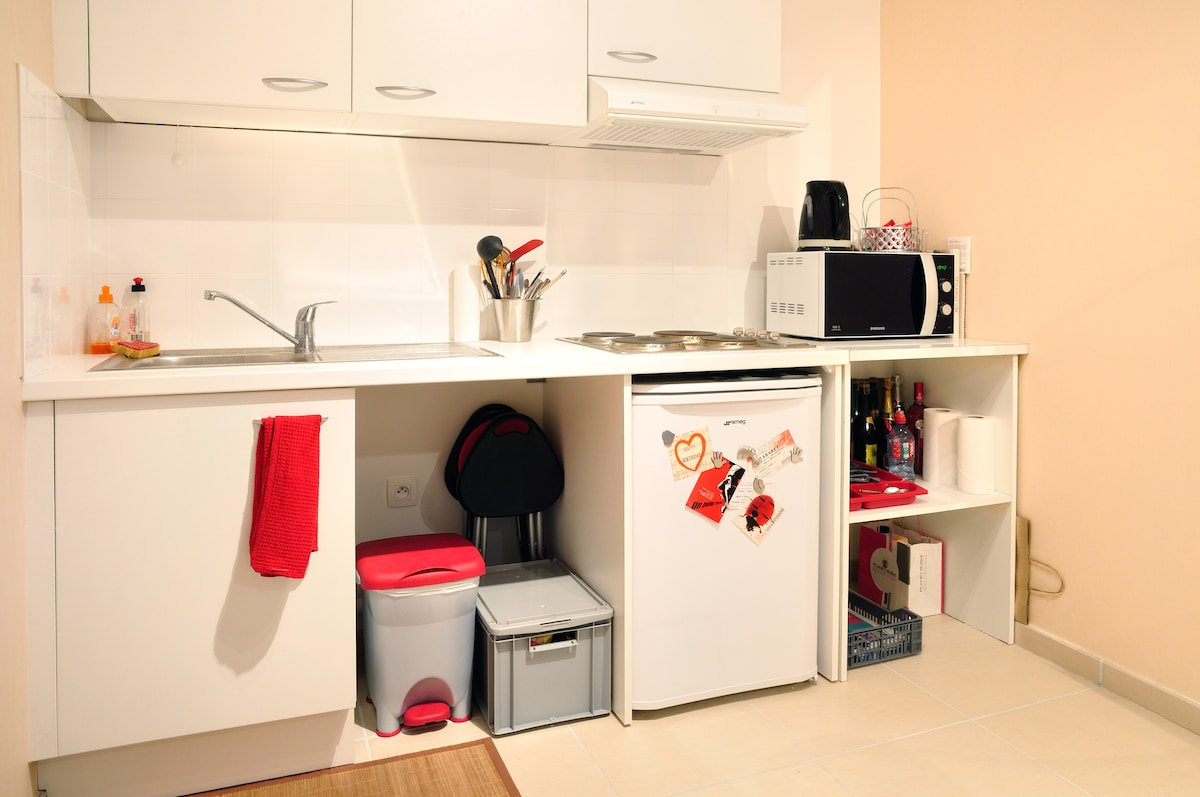 KITCHEN : all utilities are yours !
