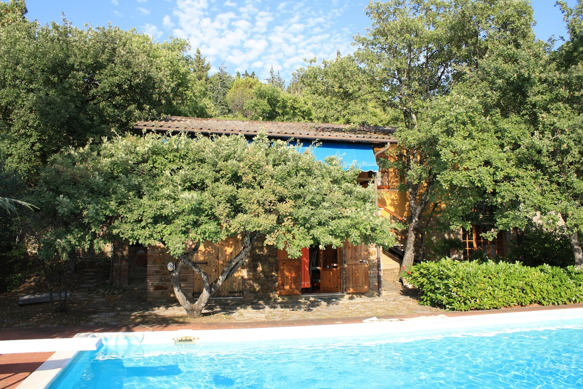 Cottage with private swimming pool