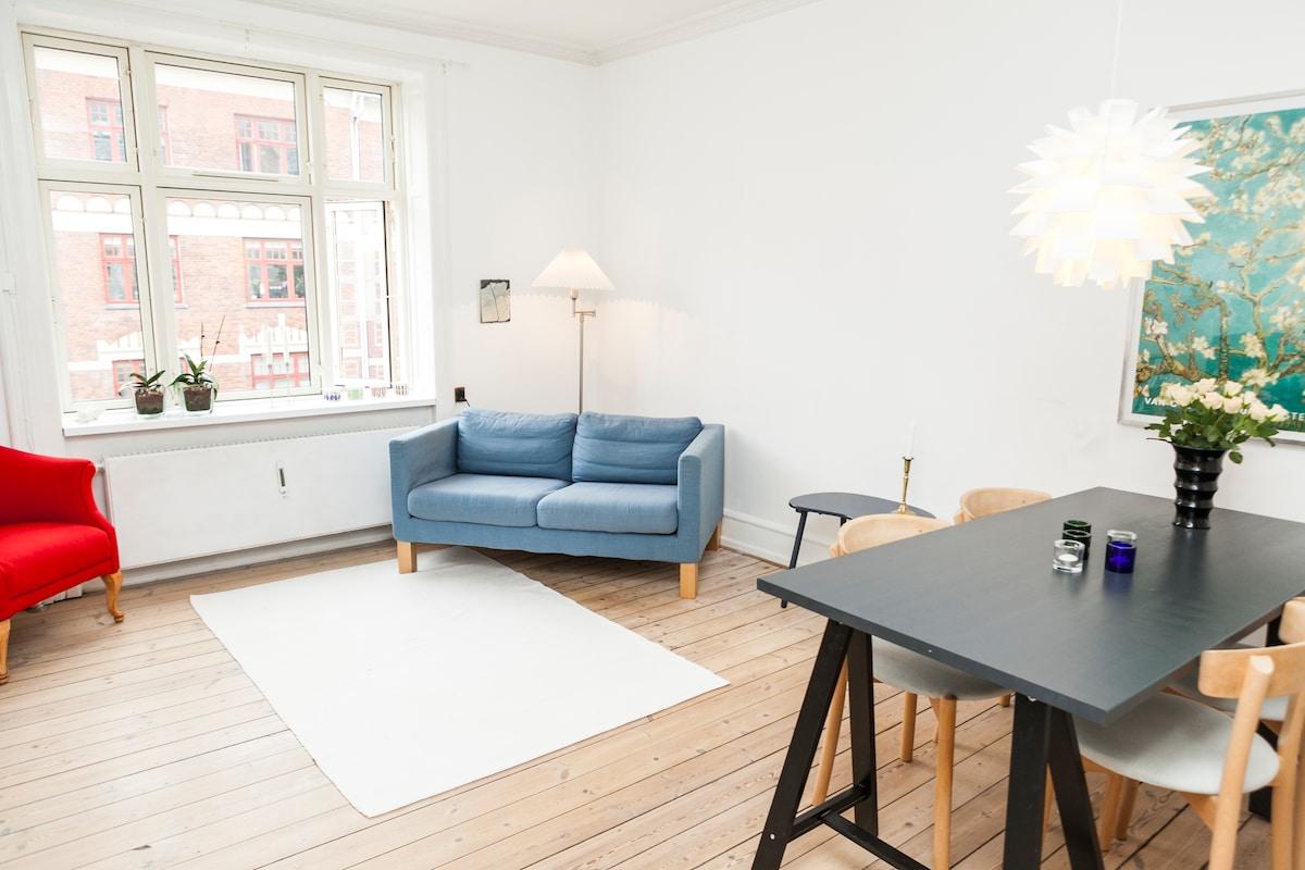 Cosy apartment in Nørrebro, CPH