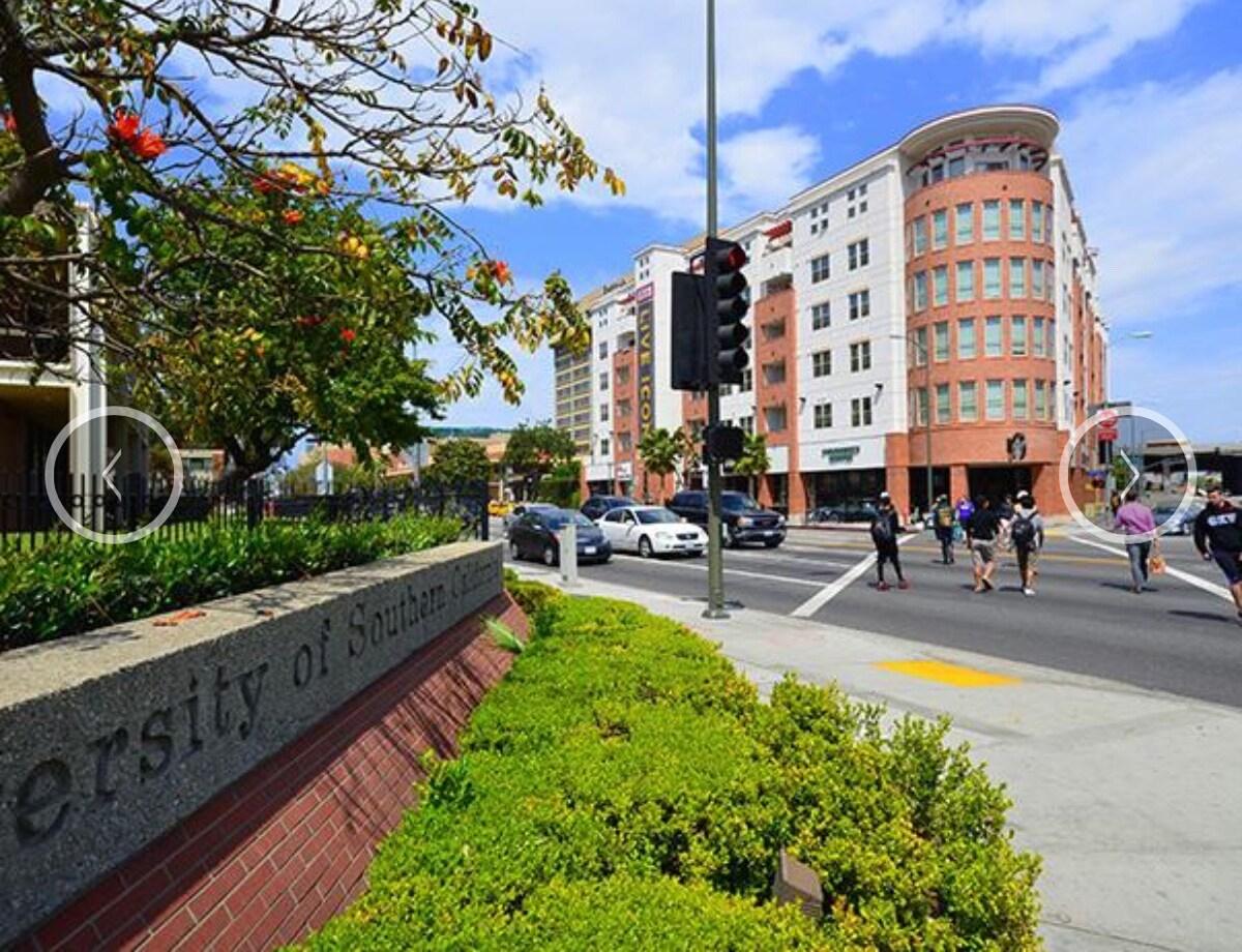 Modern Apartment Across USC on Fig