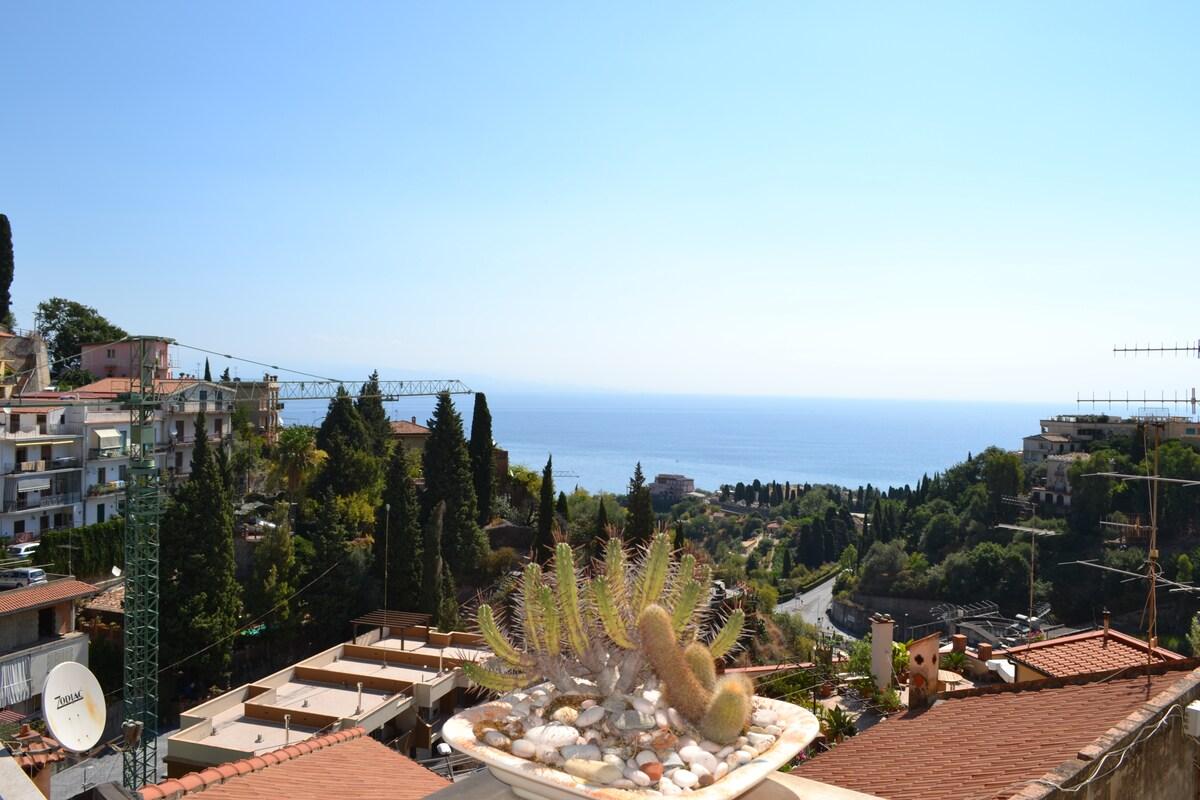 Beautifull house in Taormina