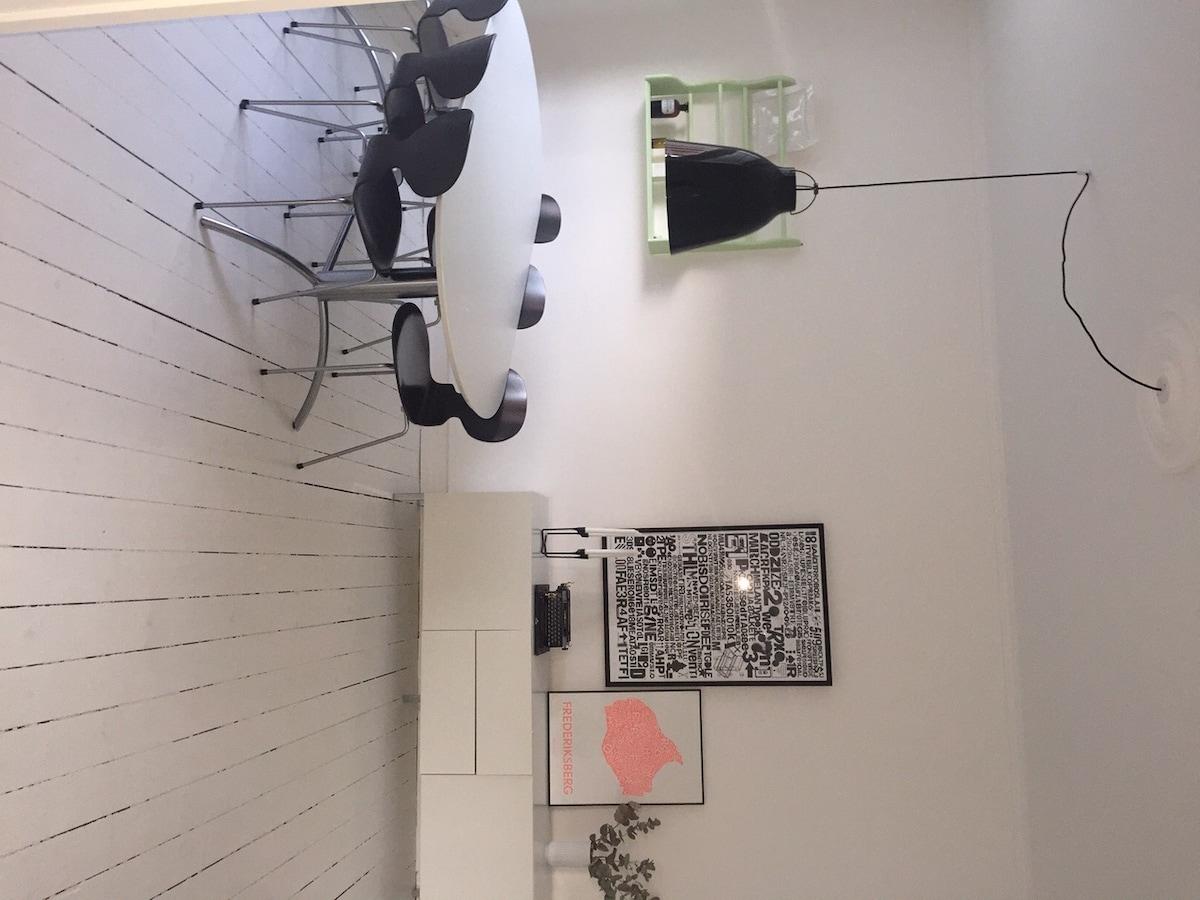 4-Room in central Copenhagen