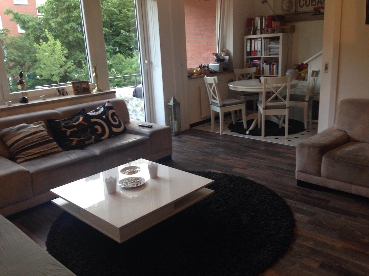 Schöne helle Wohnung, sehr zentral!