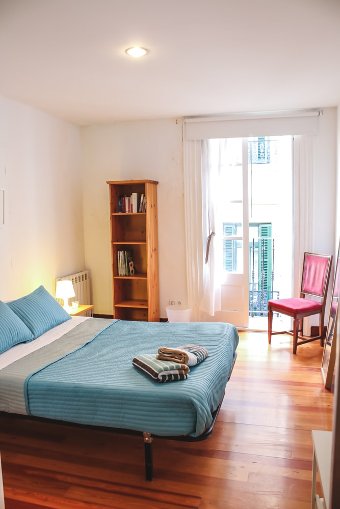 Double room #1 with double bed and balcony