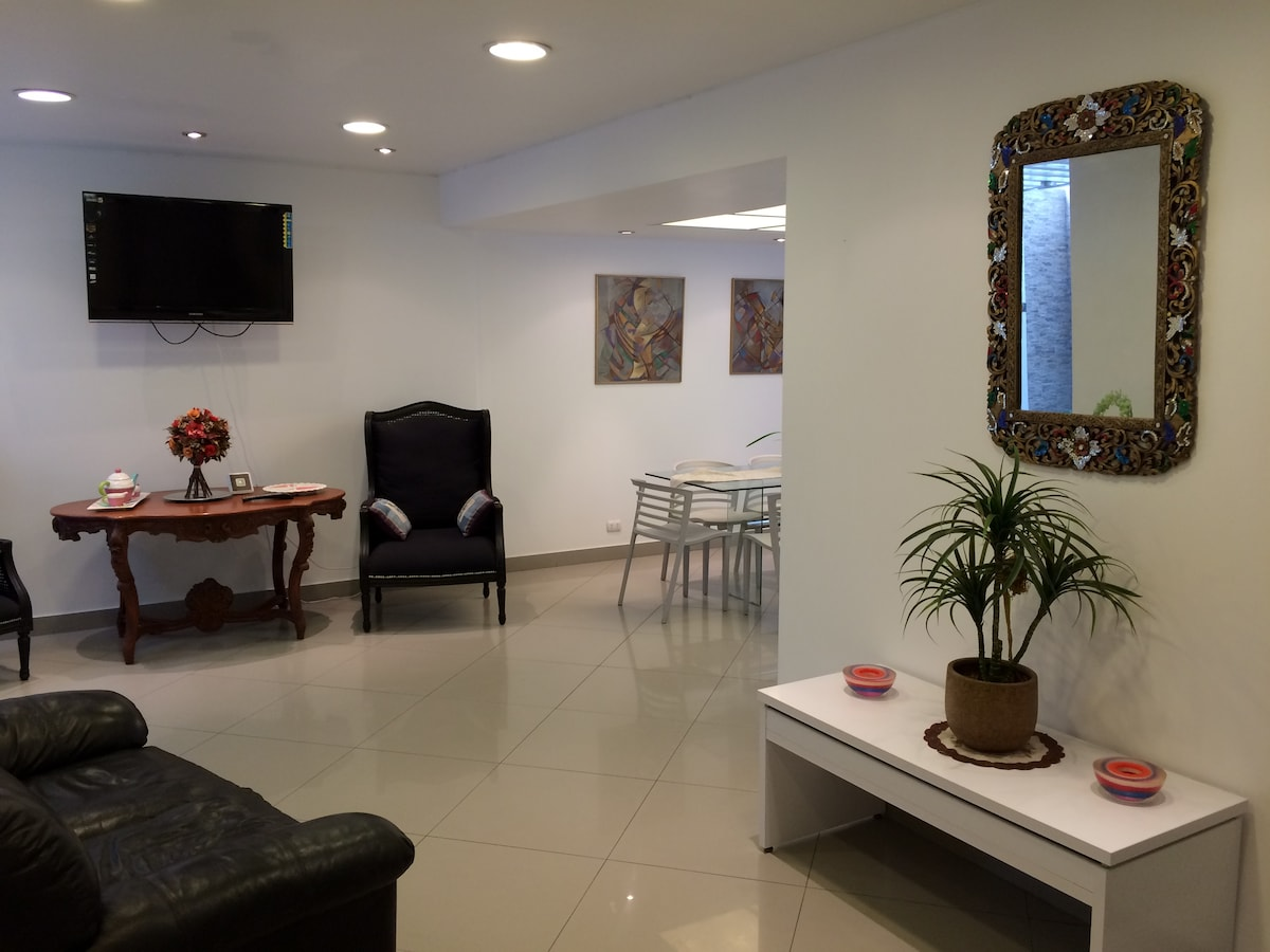 Comfortable apartment in Miraflores