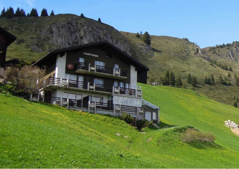 Studio for two in Riederalp