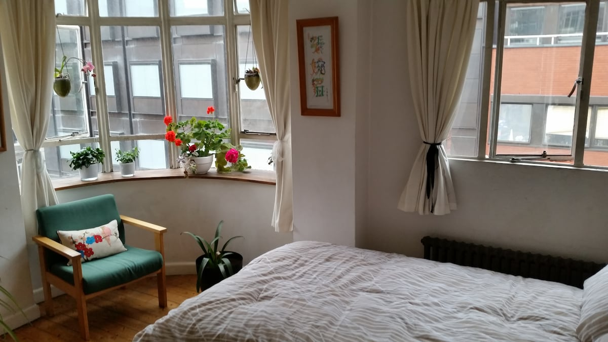 Perfectly located sunny double room