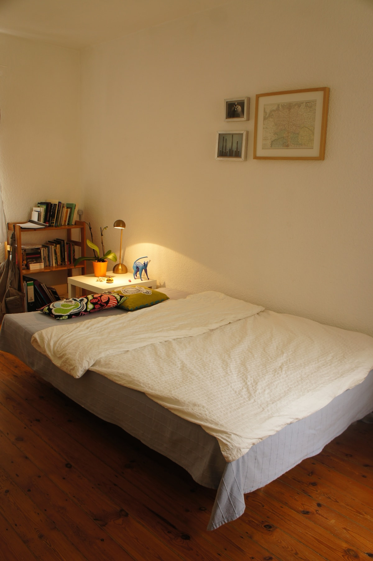 Nice, cozy bedroom in central flat