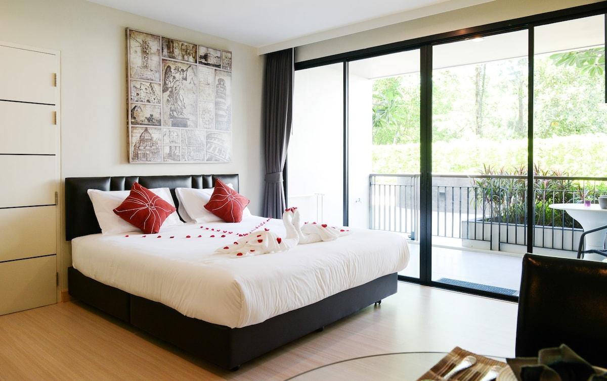 Relaxing Studio Apartment in Patong