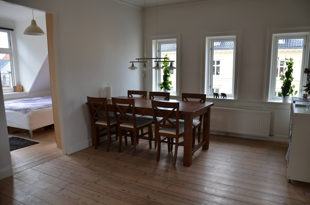 Couples appartment in Central Cph