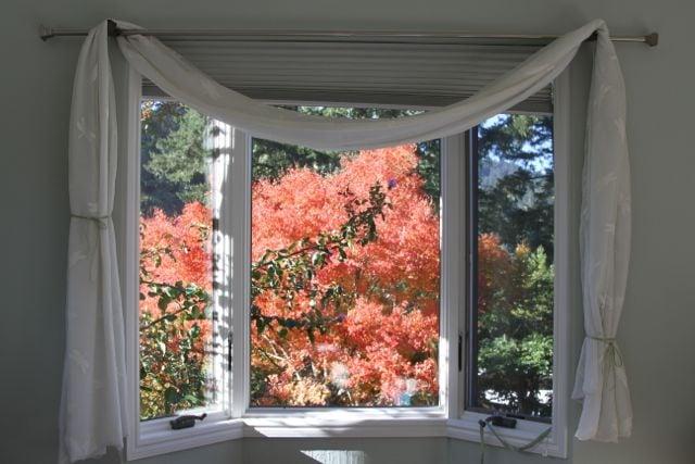 Garden views from Master bedroom