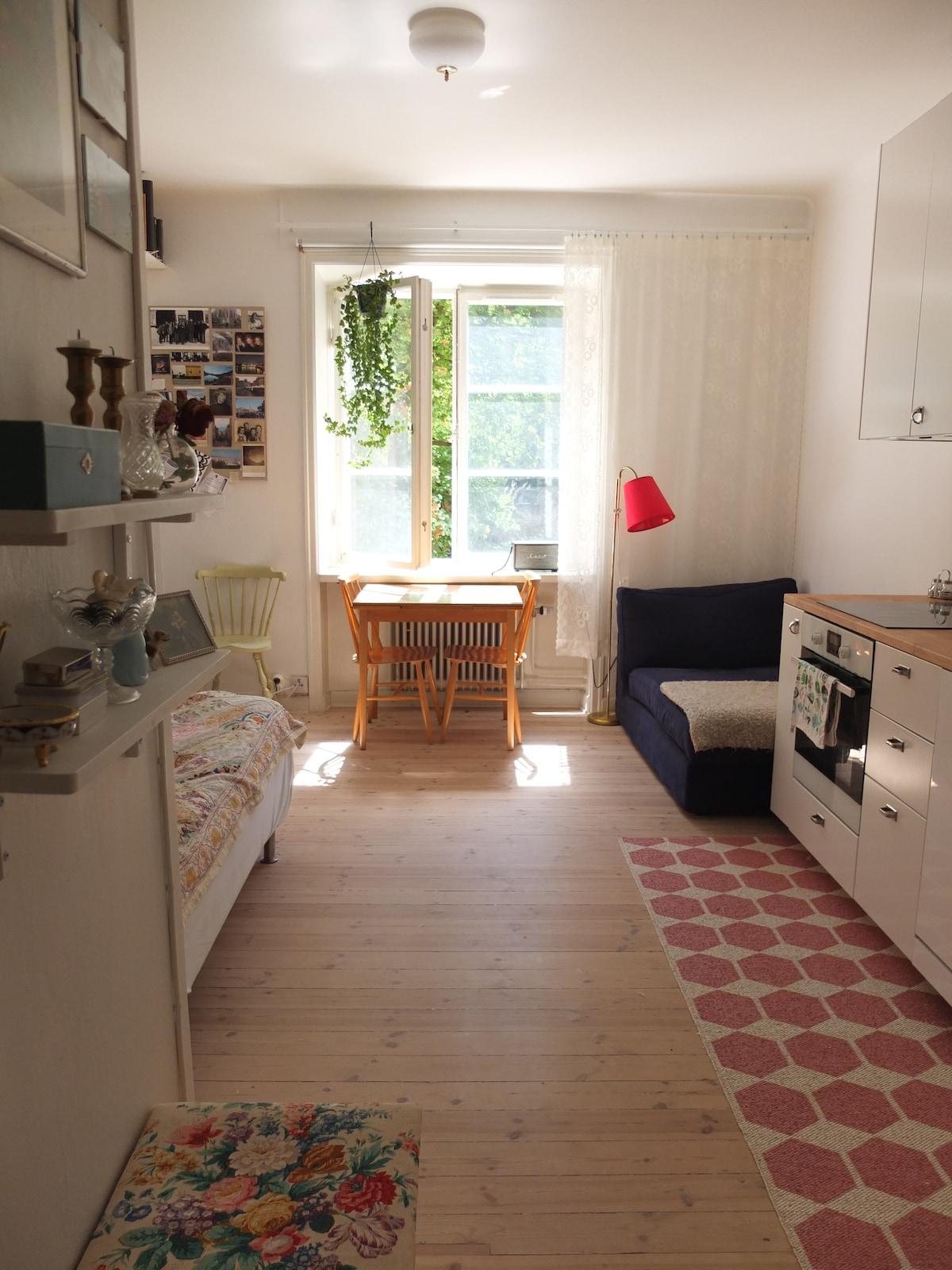 Cute home in Stockholm Södermalm