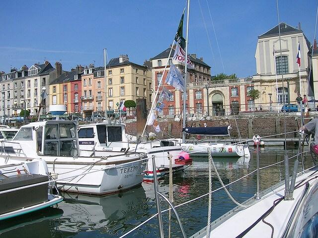Le Studio sur le port de Dieppe