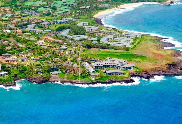 Poipu Beach 3 bed 2 bath Ocean View