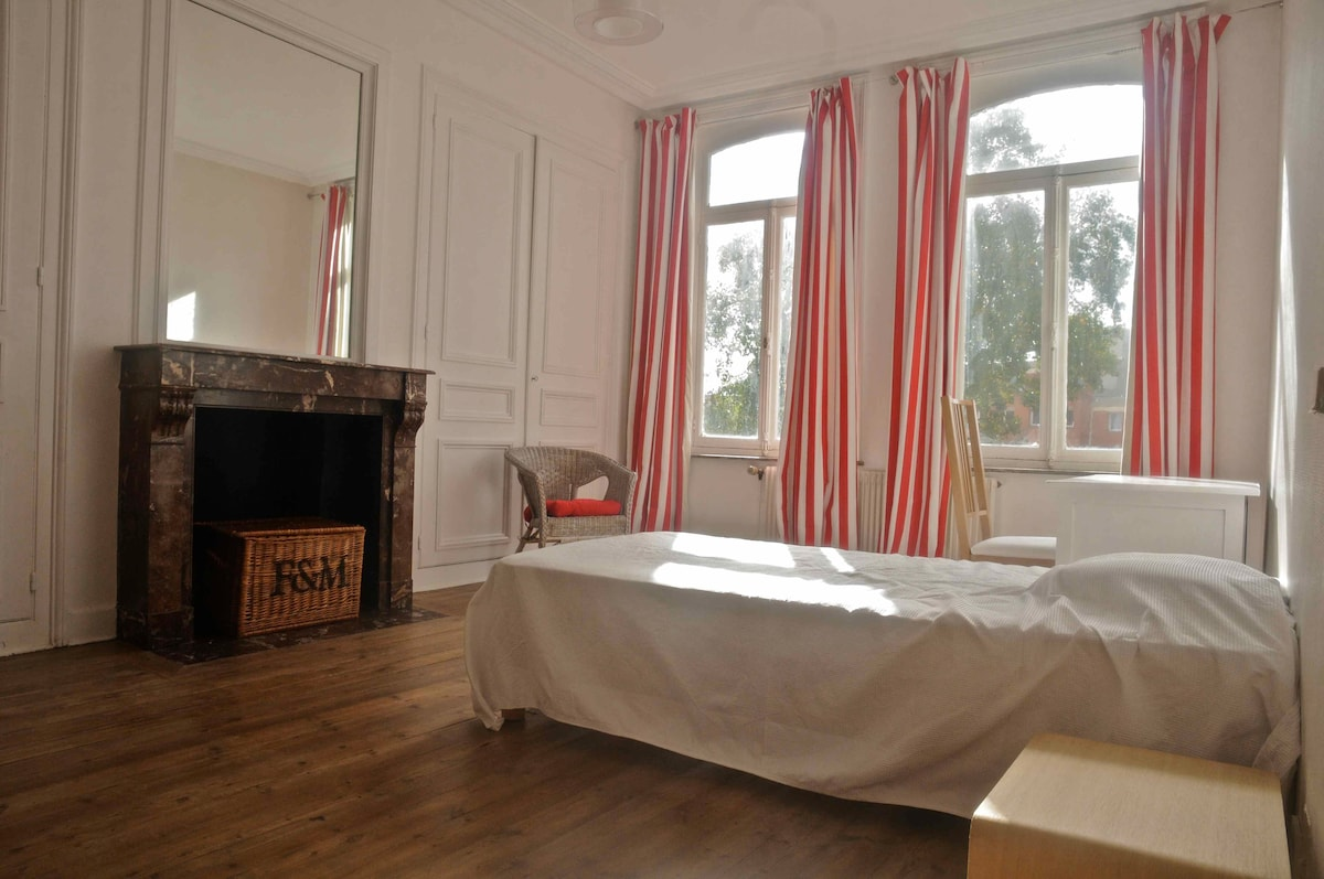 Large twin room 19th century home