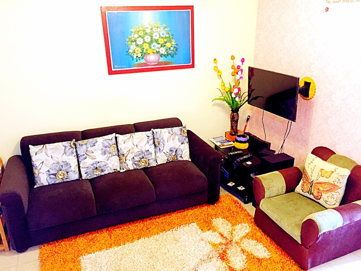 Warm home and clean apartment  2BR
