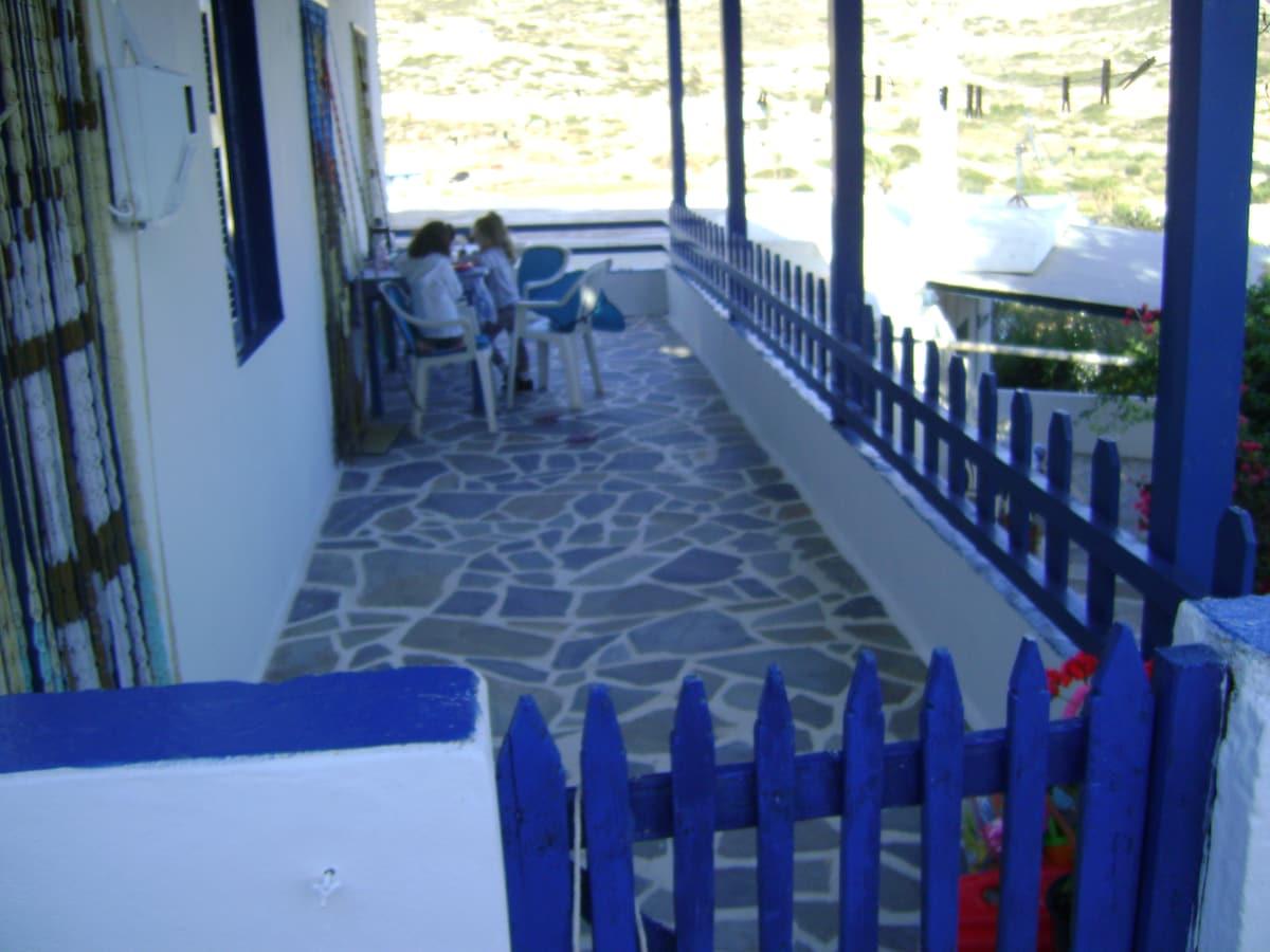The Balcony of Donoussa