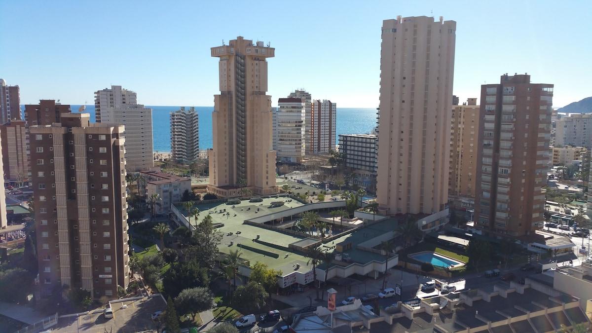 Apartamento playero en  Benidorm