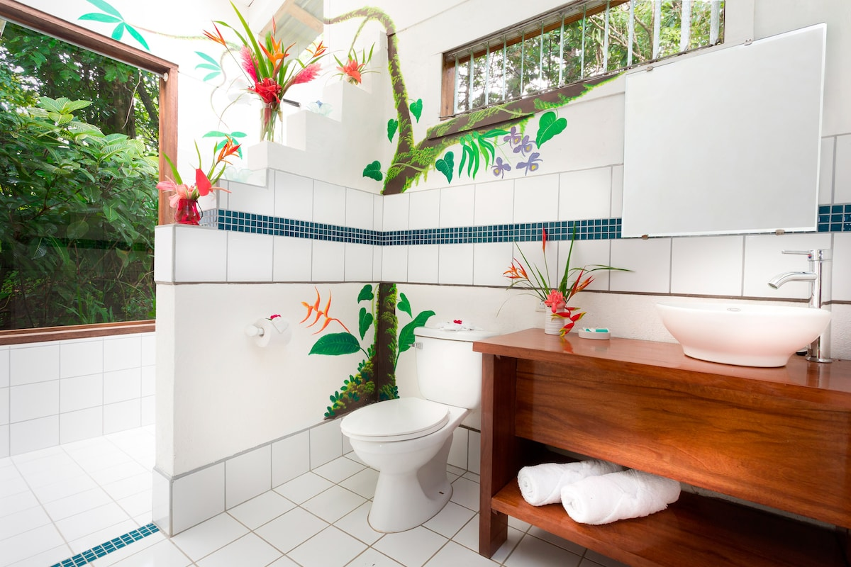 The bathroom Casita #1