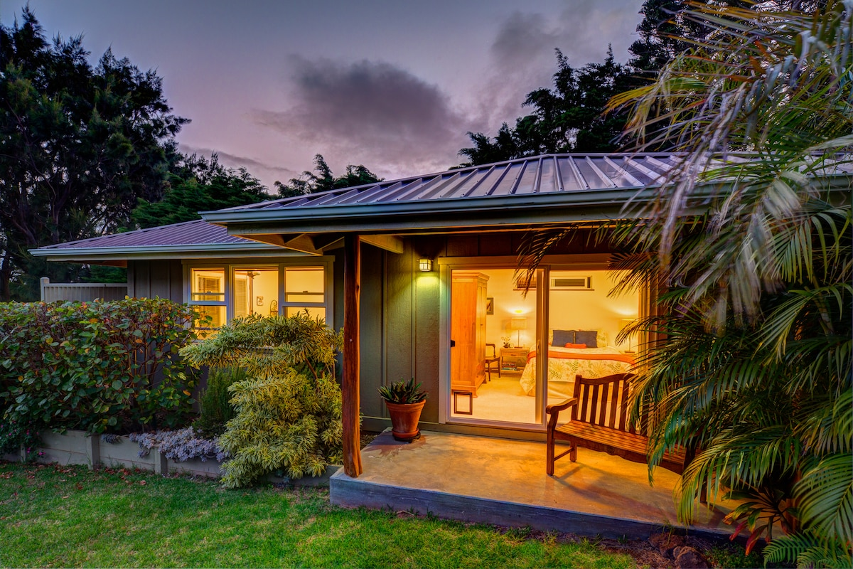 Hualalai Cottage in Waimea