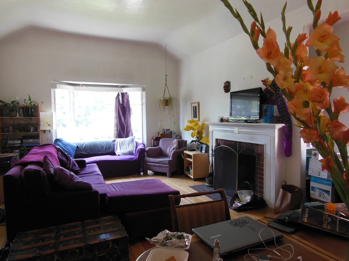 Sunny large 1 bedroom near the lake