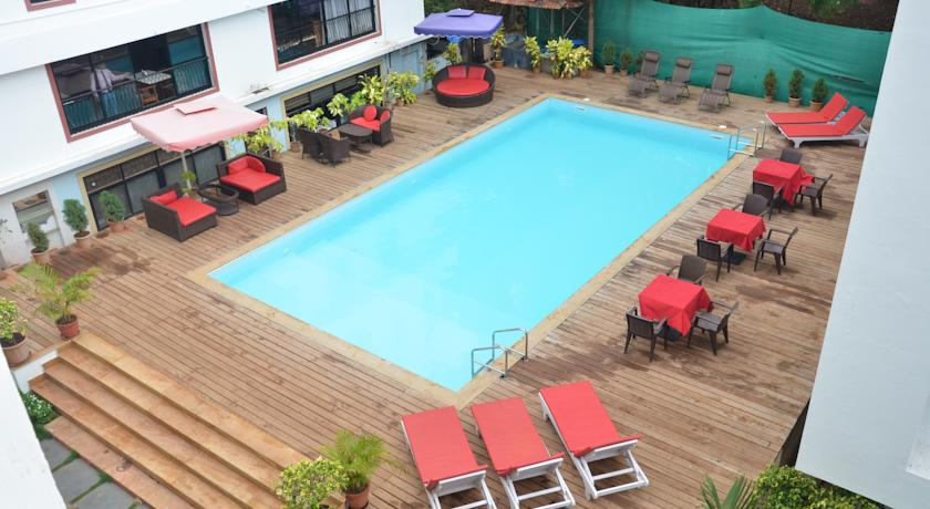 Hans 1 BHK 3* Resort with Breakfast