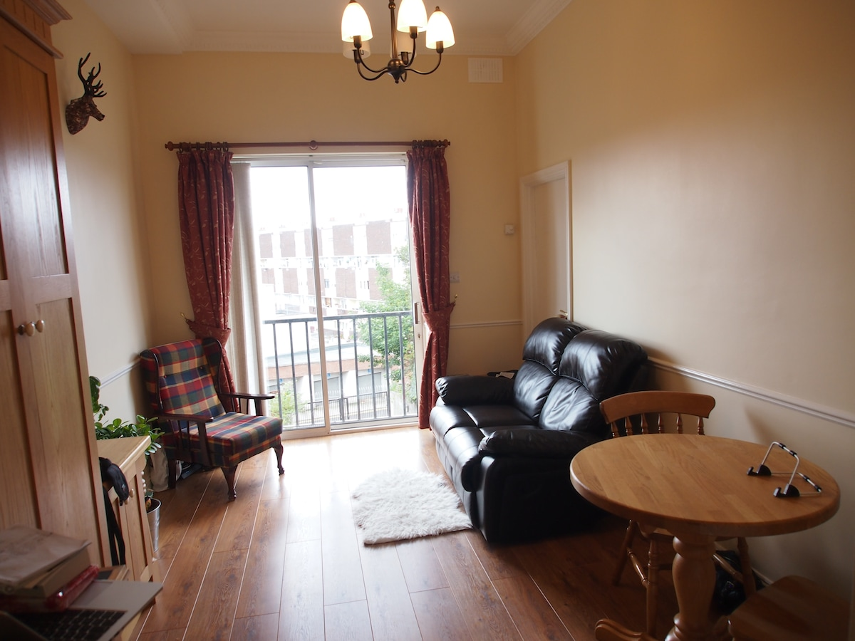 1 bed apartment centrally located