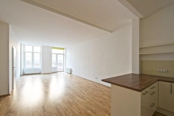 Wohnung mit Balkon auf Hauptplatz