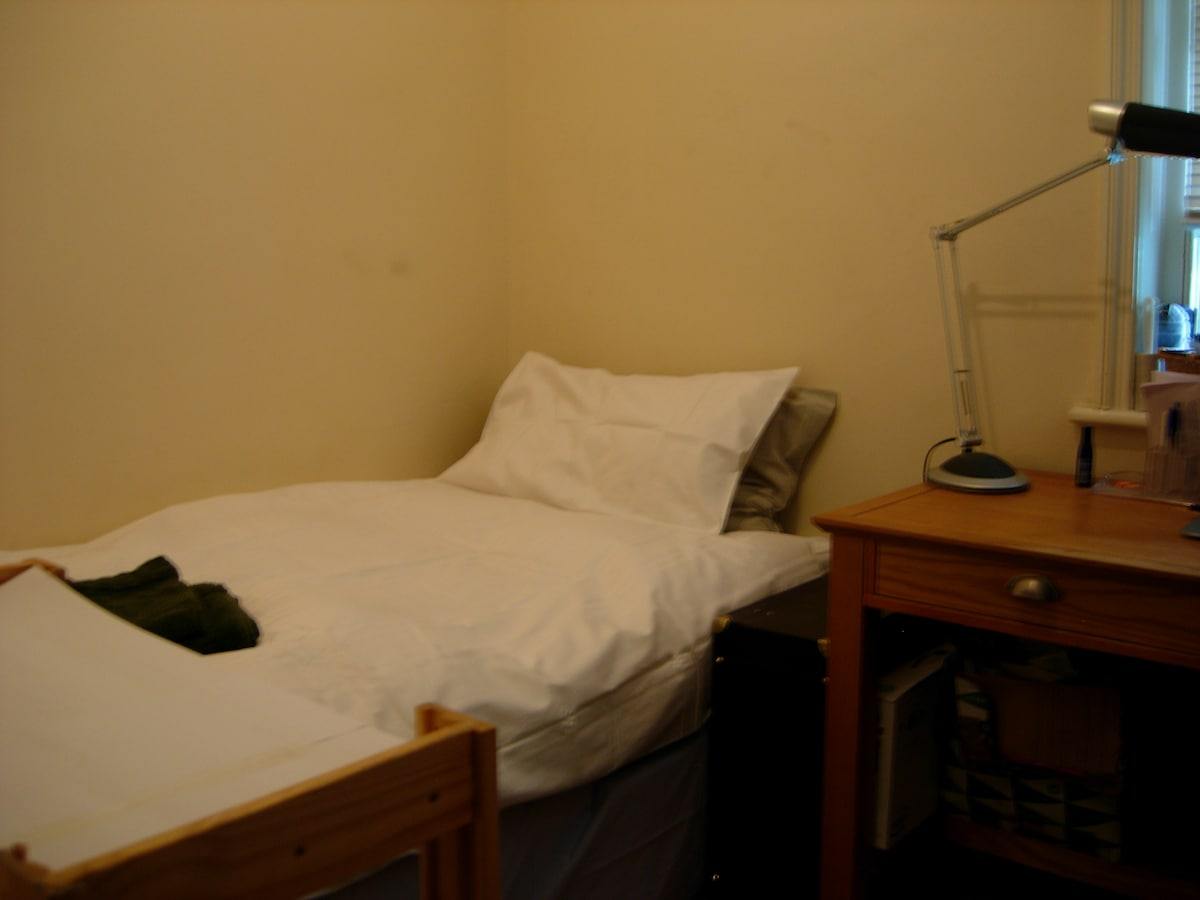 Monks Cell with Single Bed and Desk