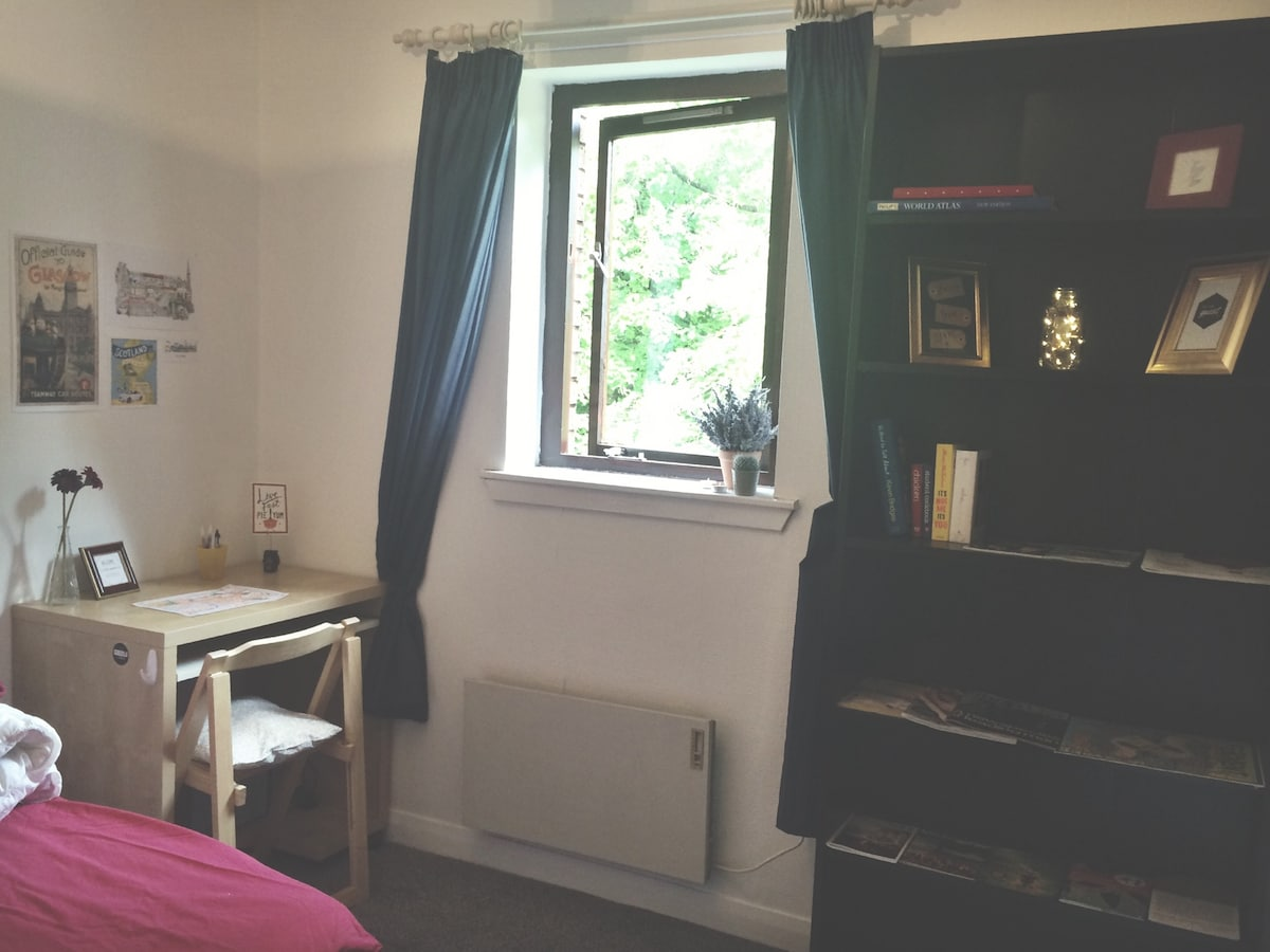 Cosy Double Room - Kelvinbridge
