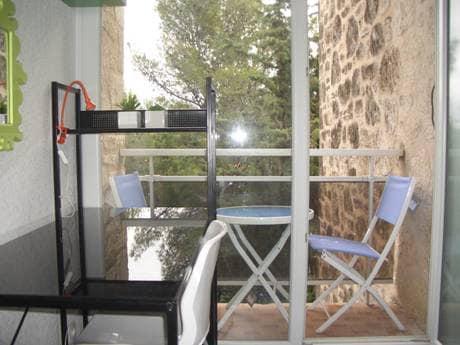 Balcon, kitchenette,WIFI, tram1