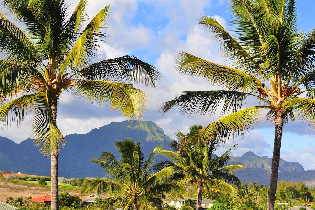fantastic views and walk to beaches