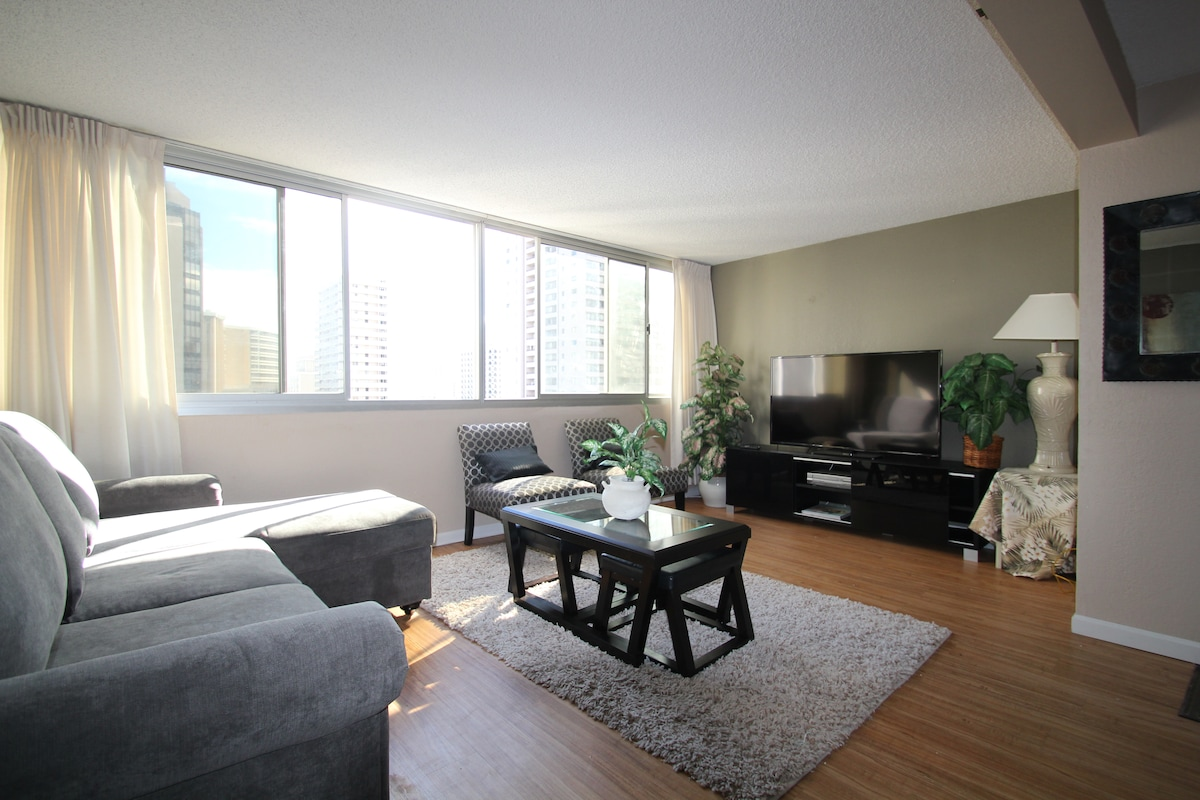 Cozy 1 Bed room with huge lanai