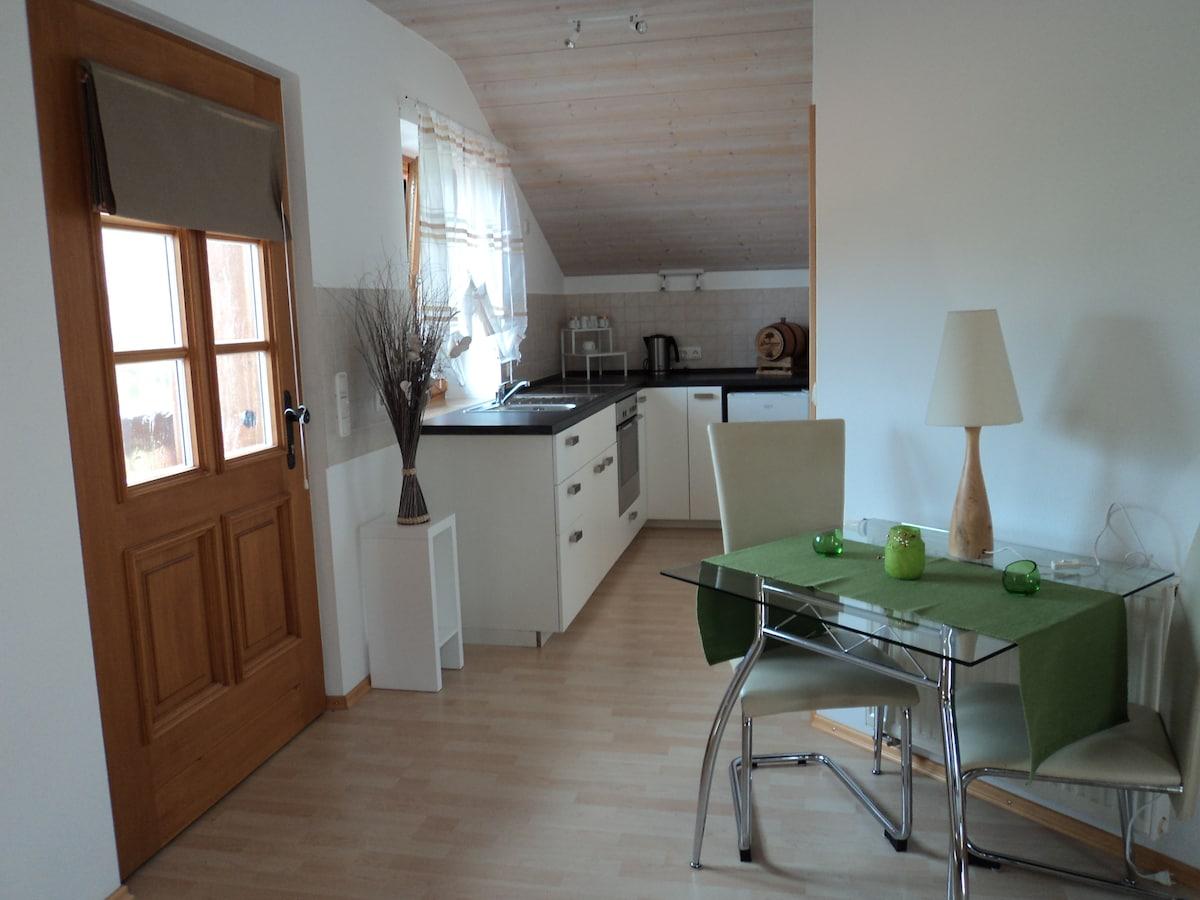 1-Zimmerwohnung,nahe Staffelsee