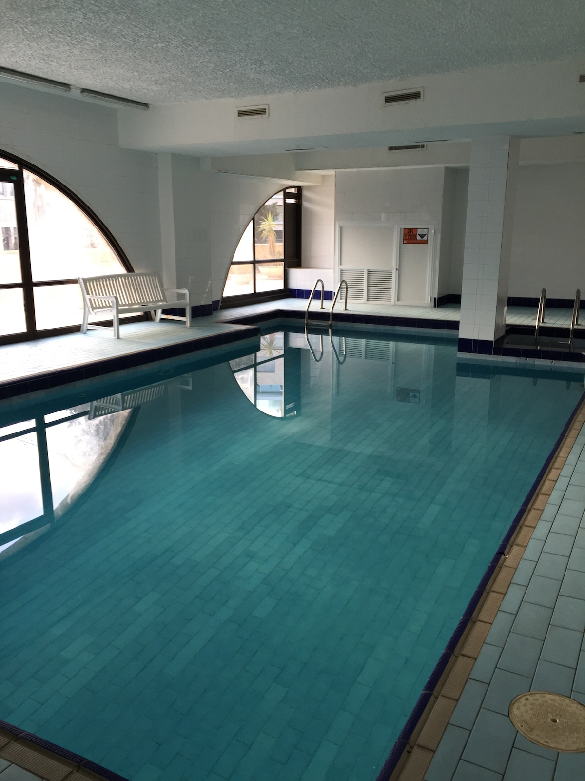 Pool, Parking, aprt#1 in the center