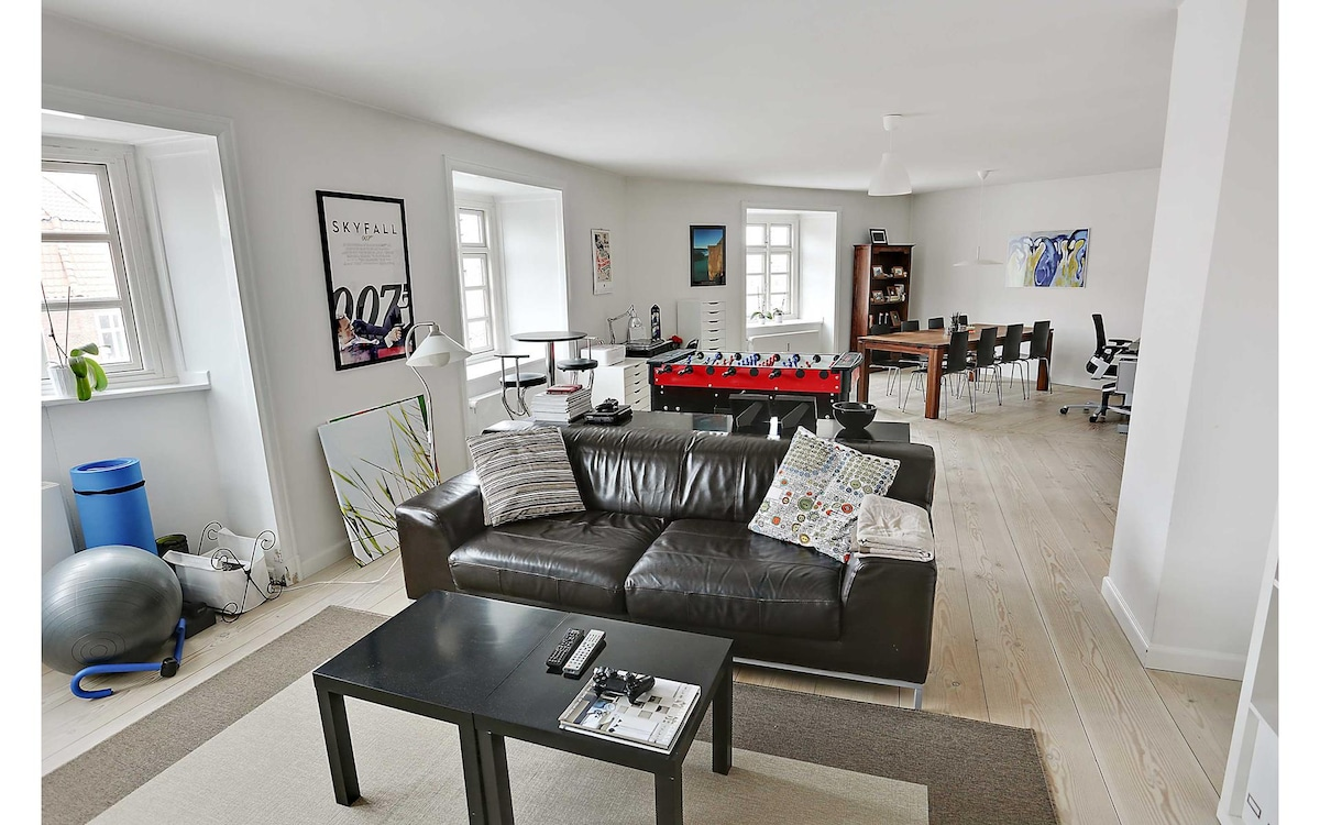 Centrally located modern apartment