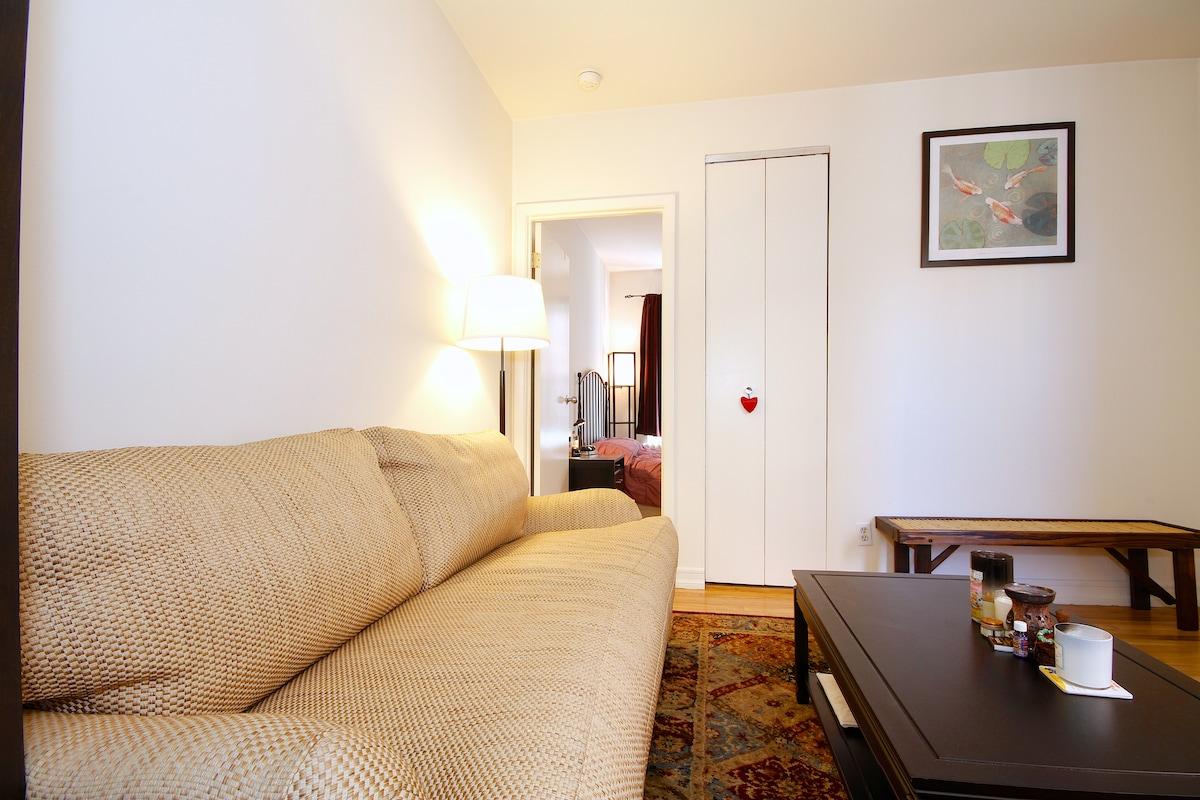Clean and convenient Soho 1-bedroom