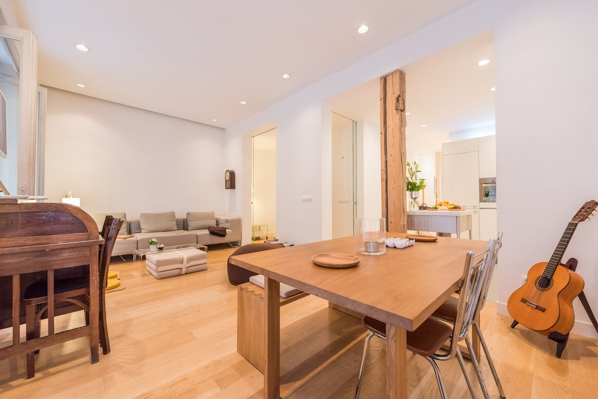 Stylish apartment in Chamberi